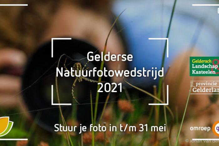 Gelderse Natuurfotowedstrijd 2021 gaat van start!