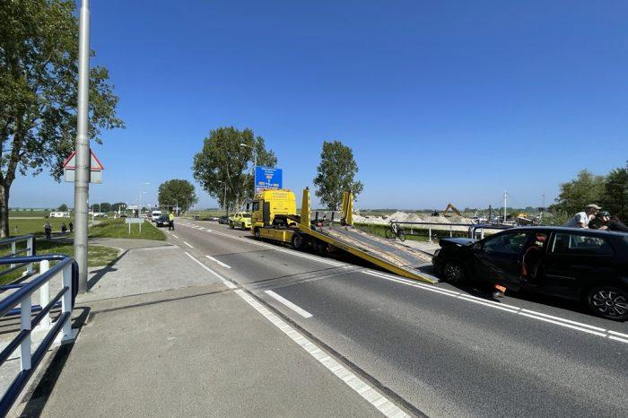 Aanrijding Elburger brug