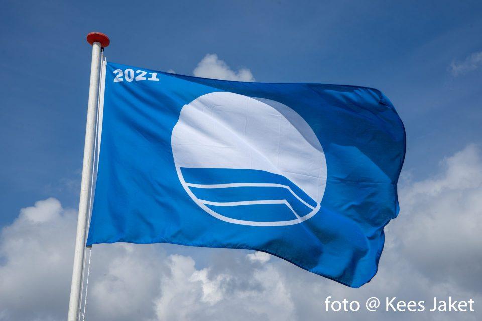 Blauwe Vlag 2021 wappert weer trots