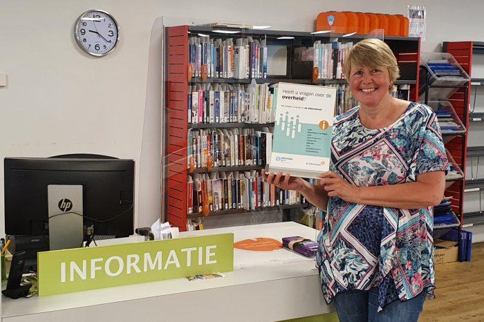 Bibliotheek Noord-Veluwe start met Informatie Punt Digitale Overheid