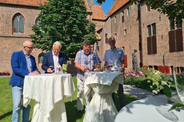 Samenwerkingsovereenkomst VVV Randmeren Veluwe getekend