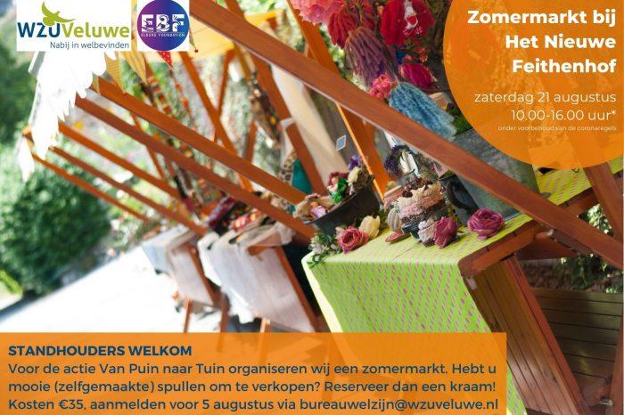 EBF Foundation en WZU Veluwe organiseren festiviteiten voor tuinactie Het Nieuwe Feithenhof