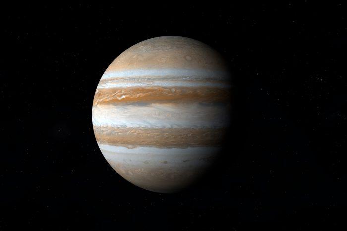 Wolkenvelden hinderen zicht oppositie Jupiter