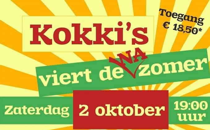 Extra kaarten voor 'Kokki's viert de Na zomer'. Vol is Vol!