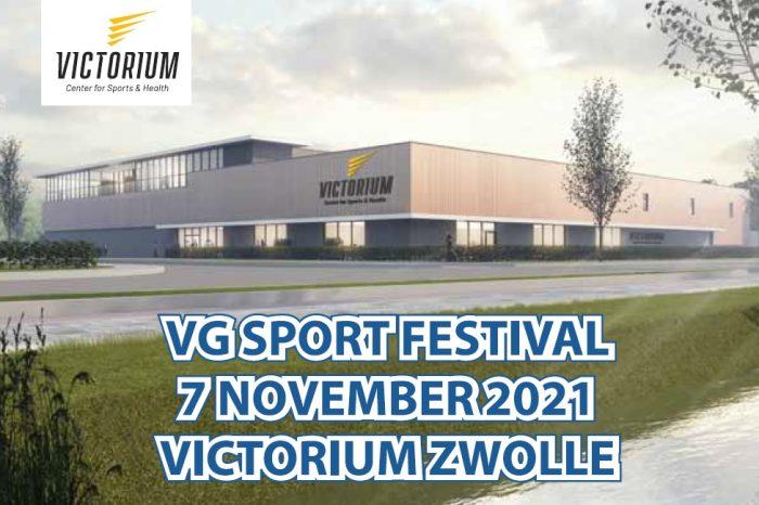 VG Sport organiseert eerste sportfestival in Victorium Zwolle