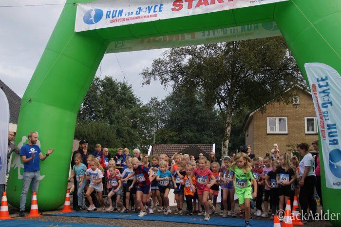 Veel deelnemers tijdens negende editie Run for Joyce