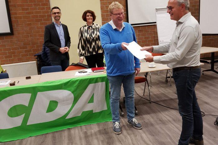 CDA Elburg stelt verkiezingsprogramma vast.