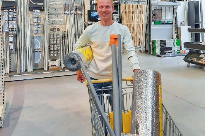 Noord-Veluwse Energiebespaaractie: 50% korting op radiatorfolie, deurdrangers en meer