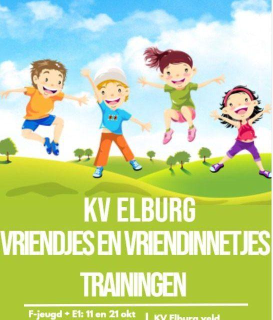 Vriendjes- en vriendinnetjestraining bij KV Elburg