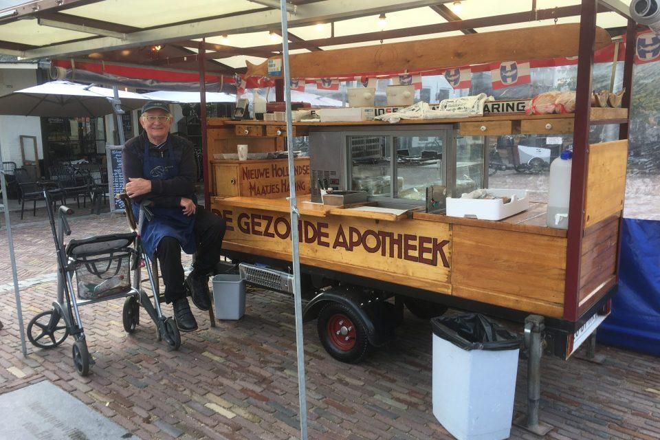 Wippe Koops weer terug op de Vischmarkt met zijn Gezonde Apotheek