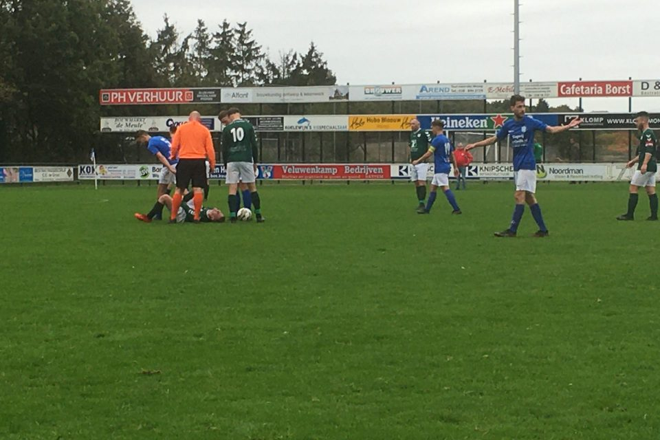 Remise S.V. 't Harde tegen Noord Veluwe Boys
