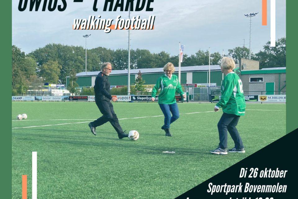 Walking Footbal: OWIOS ontvangt SV 't Harde
